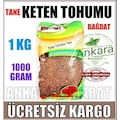 Keten Tohumu - BAĞDAT BAHARAT - Tane Keten - 1000 Gram - 1 KG