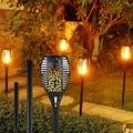 Solar 32 Led Alev Efektli Dekoratif Bahçe Aydınlatması