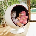 Balloon Chair Tasarım Sandalye Ev Bahçe Ofis Cafe Otel Koltuğu