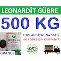 Leonardit Gübre 500 kg Granül Leonardit Gübresi Organik Gübre