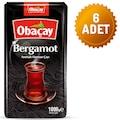 Obaçay Bergamot Aromali Çay 1 Kg (6 Adet)