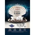 KARACA İNCİ EVLİLİK PAKETİ 189 PARÇA FULL PAKET