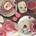 Kütahya Porselen Bone China 217 Parça Çeyiz Seti
