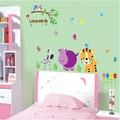 Çocuk Odası Dekorasyonu Sevimli Hayvanlar Hediyelik Duvar Dekoru
