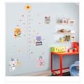 Çocuk Odası Dekoru Boy ve Gelişim Ölçer Sevimli Kediler PVC Duvar