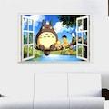 Miyazaki Komşum Totoro Bebek ve Çocuk Odası Duvar Dekorasyonu Ani