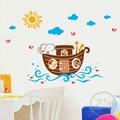 Nuhun Gemisi Bebek ve Çocuk Odası Anaokulu Yuva Kreş Dekoru PVC D