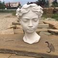 25 cm Büyük Boy Antik Helen Saksı Dekoratif Heykel