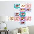 Puzzle Duvar Fotoğraf Çerçevesi 5 Parça Yeşil 23x18 MC062