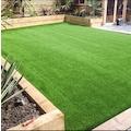 SFR 10mm Suni Yeşil Yapay Çim Halı Bahçe Balkon Dekorasyon