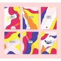 ✅ 1000 Adet Tek Yön Renkli Baskılı Etiket Sticker Çeşitli Boyut
