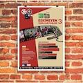 ✅ Afiş Poster Baskı Tek Yön 48 x 68 cm 135 veya 170 Gr Kuşe Kağıt