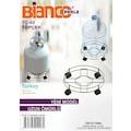 Bianco Perla TC02 Tüp Çek (Paslanmaz Krom Kaplama) 12 Adet
