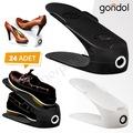 Gondol Ayakkabı Rampası Ayakkabı Düzenleyici 24 Adet Rampa GND24