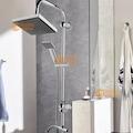 Beyazsu Siyah Robot Yağmurlama Tepe Duş Seti Banyo Takımı
