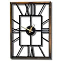 Duvar Saati, Dekoratif Saat, Metal Duvar Saatleri,75 cm * 53 cm