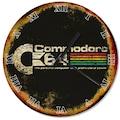 Eskimiş Zeminde Commodore 64 Afişi Tasarım Duvar Saati