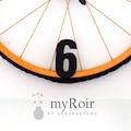 GEEL Metal Duvar Saati (Bisiklet Jantından) 57 Cm Halatlı