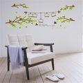Ağaç Dalları Kuşlar Resim Fotoğraf Çerçeveli Ev Salon Duvar Dekor