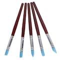 5'Li Silikon Marzipan Fırça Set