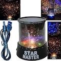Star Master Projeksiyon Yıldızlı Gece Lambası USB Kablo Hediye