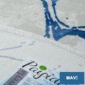 Payidar Vaveyla4313ADaire Bordo-Mavi-Lila-GriHarmony Desen Halı