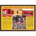 15 TEMMUZ ŞEHİTLER KÖŞESİ MDF ÇERÇEVE 70X100