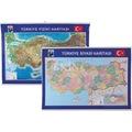 GÜLPAŞ Türkiye Fiziki ve Siyasi HaritaÇITALI70X100