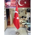 Makam Bayrak, Makam Türk Bayrağı + Krom Makam Direği