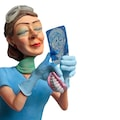 Forchino Lady Dentist Bayan Dişçi Koleksiyon Figür