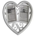 Sevgiliye Eşe Doğum Günü Hediye 2li Kalp Çerçeveli Takvim Yaprağı