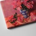 Çiçekli Kanvas Tablo