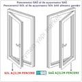 Arwin Kapı Pencere Kademeli Havalandırma Kolu Pvc Emniyet Kilidi