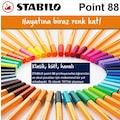 Stabilo Point 88 Fine 0,4 mm Keçe Uçlu Kalem