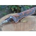 Hakiki Trabzon Sürmene el yapımı,dövme çelik av ve kamp bıçağı.