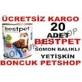 Bestpet 20 Adet X 415 gr Somon Balıklı Yetişkin Kedi Konservesi