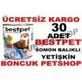 Bestpet 30 Adet X 415 gr Somon Balıklı Yetişkin Kedi Konservesi