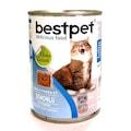 Bestpet 40 Adet X 415 gr Somon Balıklı Yetişkin Kedi Konservesi