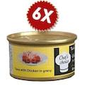 Chefs Choice Tuna Meat And Chıcken 80 Gr 6 Adet Avantaj Paketi