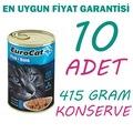 EUROCAT SOMONLU KEDİ KONSERVESİ 415 GR X 10 ADET