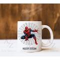 Kişiye Özel Örümcek Adam Tasarım Kupa Bardak