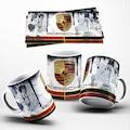 Porsche Mug Kupa Bardak - Porselen