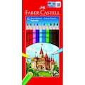 Faber Castell 12 li Tam Boy Kuru Boya