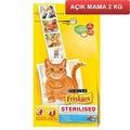 Friskies Sterilised Somonlu Kısırlaştırılmış Kedi Mamasi 2Kg AÇIK