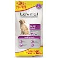 LaVital Kuzu Etli Büyük Irk Yetişkin Köpek Maması 12+3 Kg