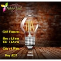 ST64--G45- A60-T45-G95-G125 FLAMANLI  RUSTİK LED EDİSON AMPUL