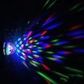 Led Disko Lamba Dönebilen Işıklı Parti Disko Lambası Duy+ Prizli