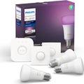 Philips Hue Renkli Akıllı Başlangıç Seti 3'lü Bluetooth E27