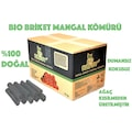 Bio Briket İthal Mangal Kömürü 10 KG