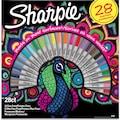 Sharpie Fine Permanent Markör 28'li Tavuskuşu